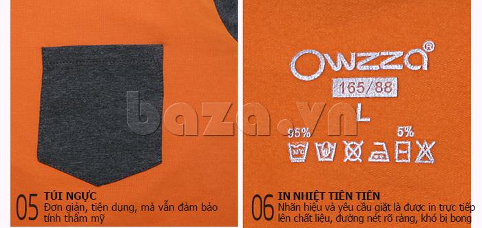 Bộ đồ ngủ dài tay Owzza A2D02 tinh tế