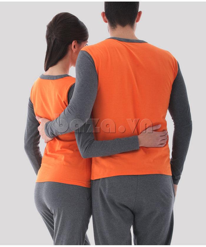 Bộ đồ ngủ dài tay Owzza A2D02 cuốn hút