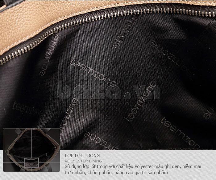 Túi xách nam mới Teemzone T1041