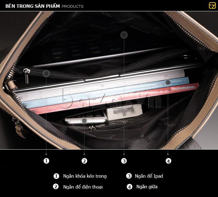 Túi xách nam thời trang Teemzone T1041