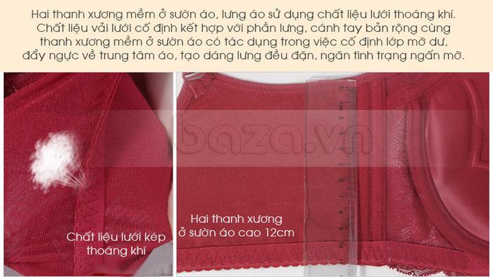 Bộ đồ lót nữ chất liệu ren cao cấp XZYD đẩy ngực nâng cao tối đa