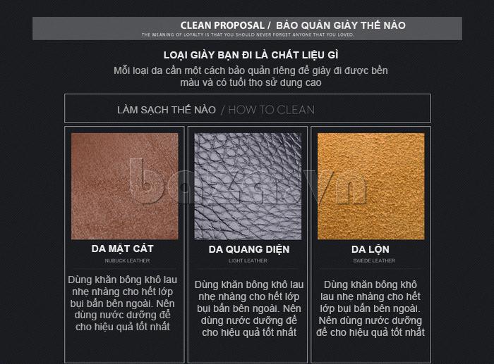 Làm sạch Giầy nam thời trang Simier 8106