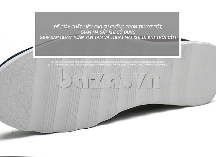 Giầy nam thời trang Simier 8106 đế giày chống trơn