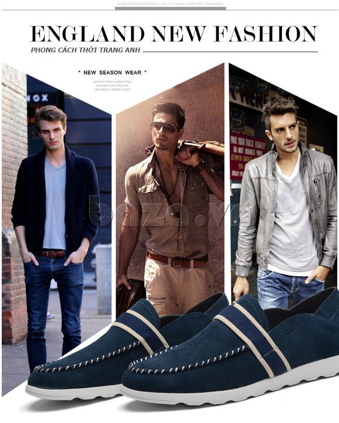 Giầy nam thời trang Simier 8106 năng động và phong cách