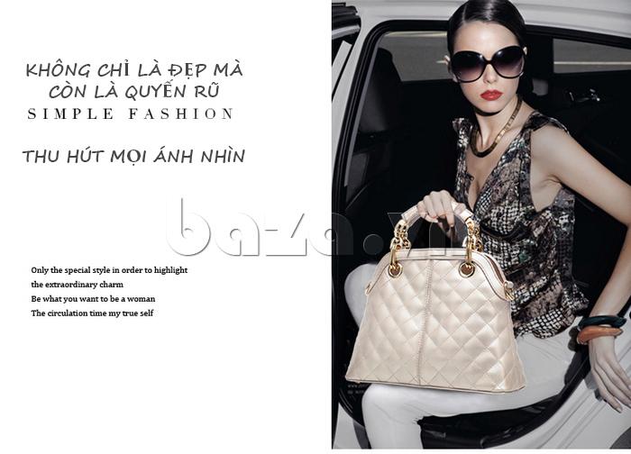 Túi xách nữ Binnitu B51279 thu hút mọi ánh nhìn
