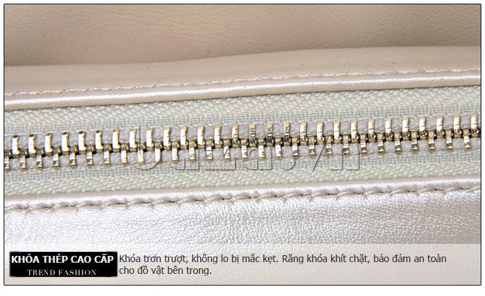 Túi xách nữ Binnitu B51279 khóa kéo bền bỉ