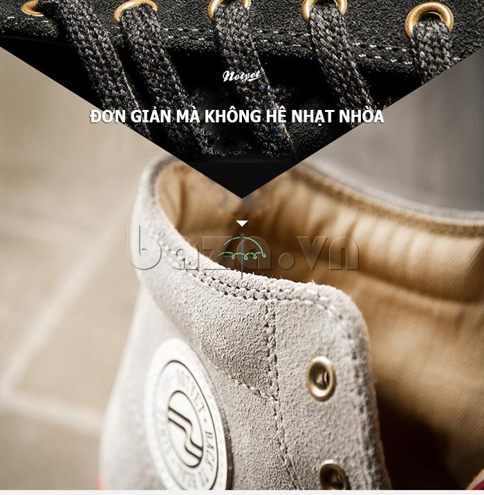 Giày thể thao nam Notyet - Đơn giản mà không nhạt nhòa
