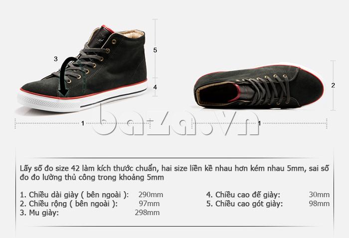 Thiết kế giày nam phù hợp với form dáng chân của người châu Á