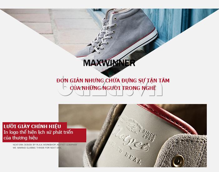 Giày nam Notyet chứa đựng sự tận tâm của nhà thiết kế
