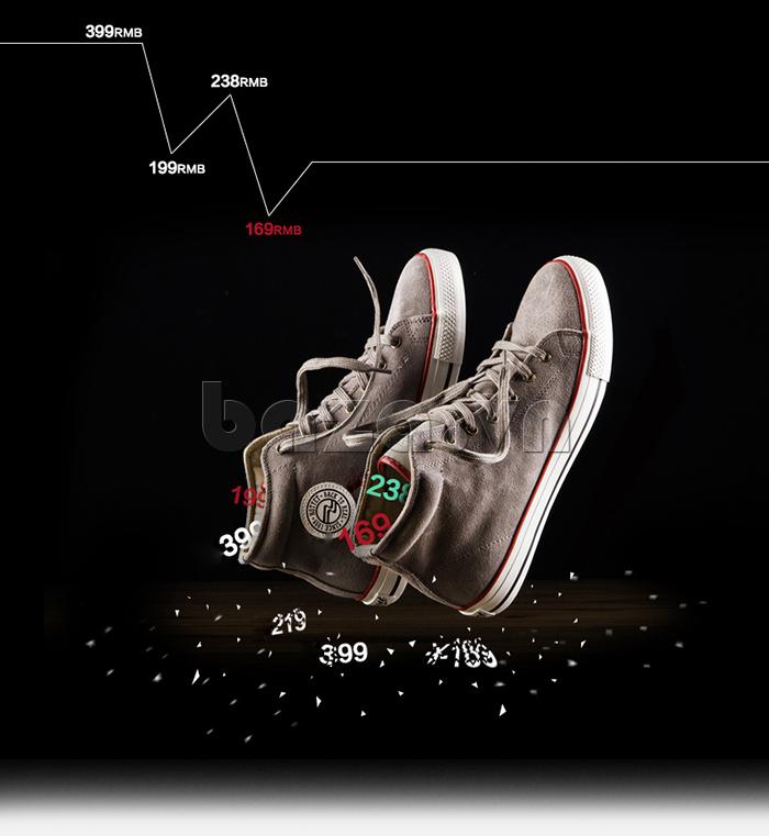 Giày nam Notyet NY-LD3303 cao cổ chất lượng vượt trội