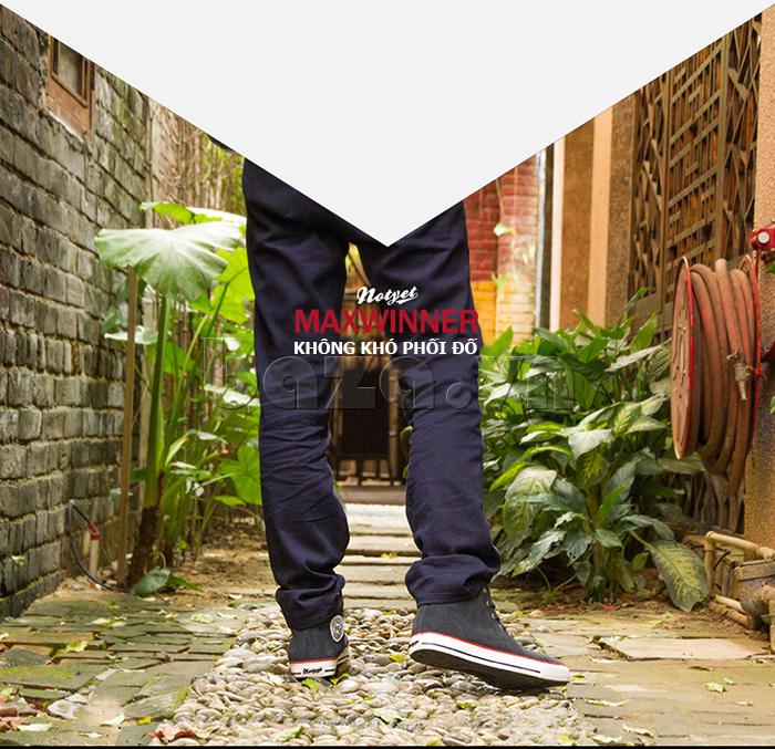 Giày nam Notyet dễ dàng phối đồ với các trang phục khác