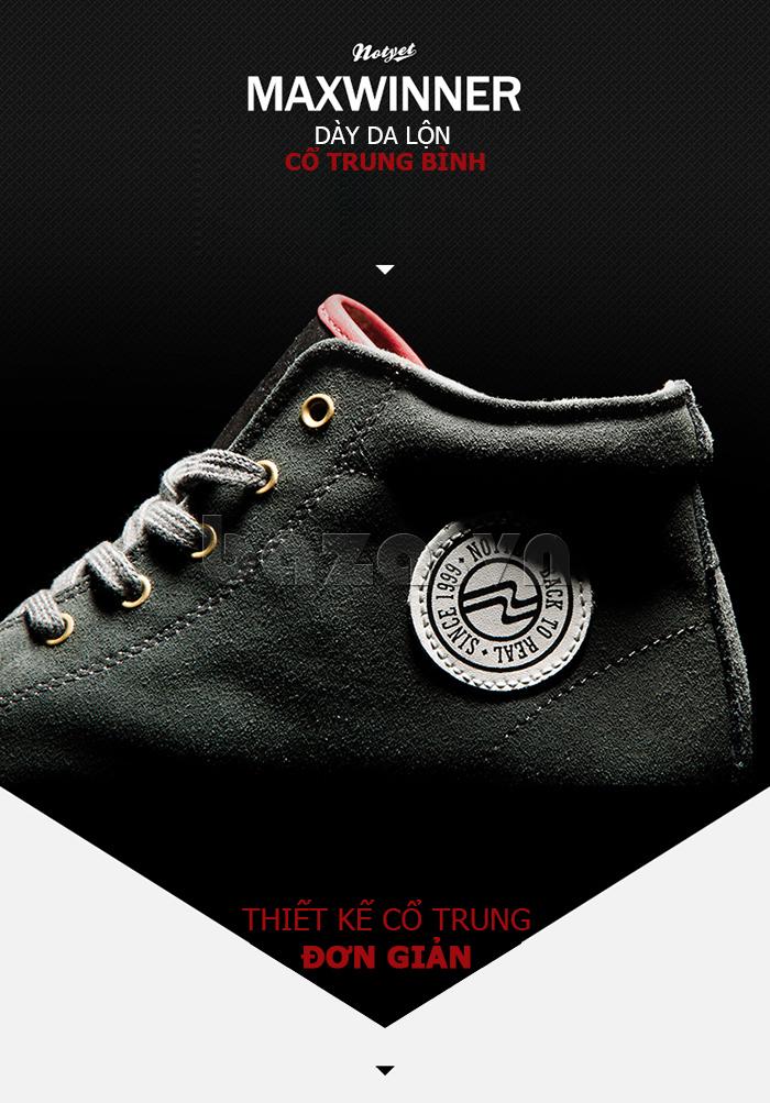 Giày nam Notyet NY-LD3303 cao cổ