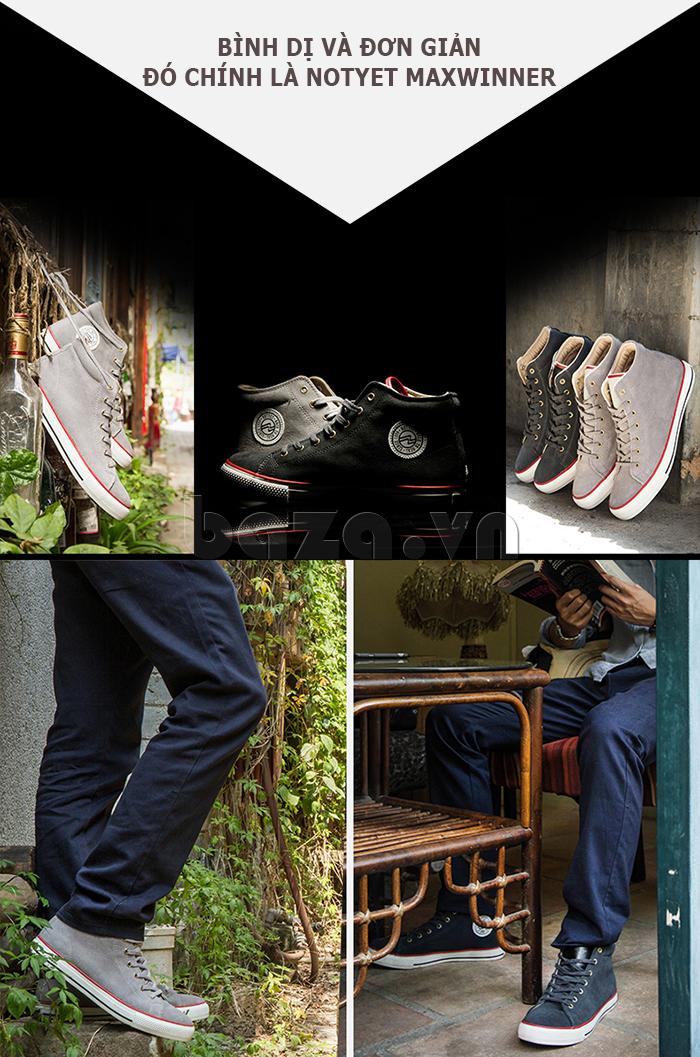 Dòng giày nam mang xu hướng bình dị và đơn giản