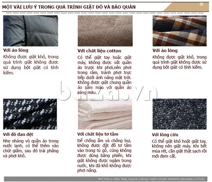 Sản phẩm áo sơ mi nam dễ bảo quản