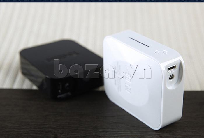 Pin dự phòng di động 4400mA Yoobao YB-627 màu đen và trắng