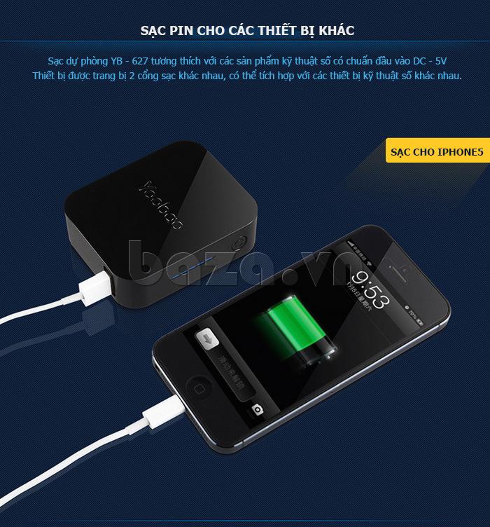 Pin dự phòng di động 4400mA Yoobao YB-627 bán tại Baza