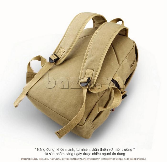 Túi đeo balo khóa chéo Buweisi S051 mặt sau