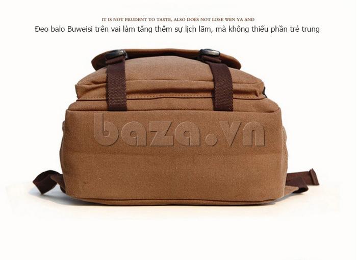 Túi đeo balo khóa chéo Buweisi S051 khỏe khoắn
