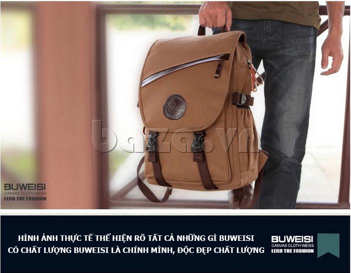Hình ảnh mẫu Túi đeo balo khóa chéo Buweisi S051 4