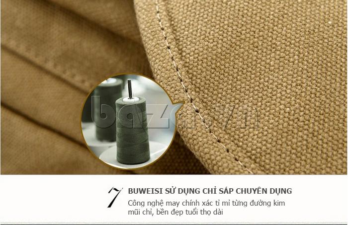 Túi đeo balo khóa chéo Buweisi S051 dùng chỉ sáp chuyên dụng