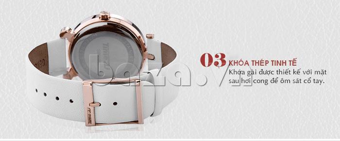 Đồng hồ thời trang Time2U 91-18918 khóa thép tinh tế