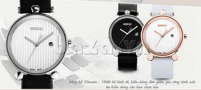 Đồng hồ thời trang Time2U 91-18918 màu sắc đa dạng