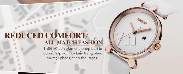 Đồng hồ thời trang Time2U 91-18918 phong cách mới lạ