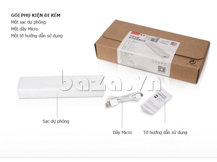 Thiết bị pin dự phòng di động 10400mAh Yoobao YB-6004 công nghệ cao