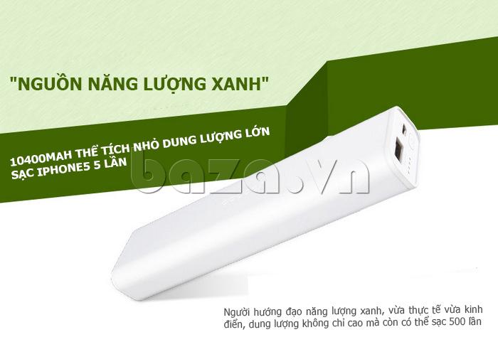 Thiết bị pin dự phòng di động 10400mAh Yoobao YB-6004 đẹp