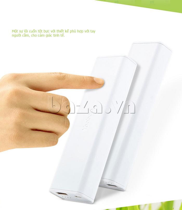 Thiết bị pin dự phòng di động 10400mAh Yoobao YB-6004 tiện lợi