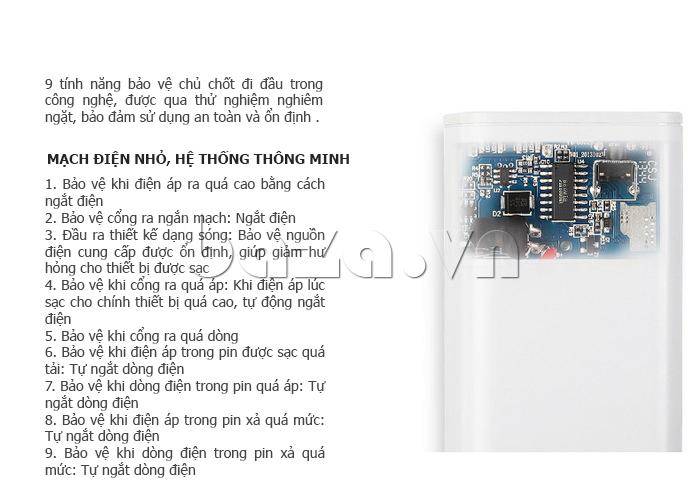 Thiết bị pin dự phòng di động 10400mAh Yoobao YB-6004 thời trang