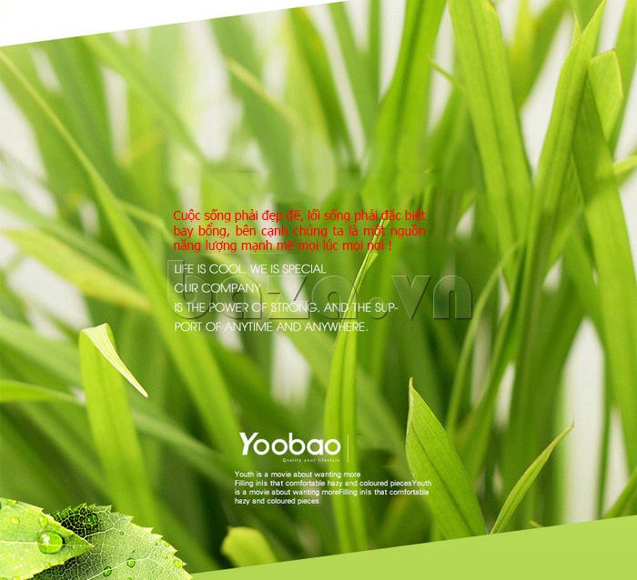 Thiết bị pin dự phòng di động 10400mAh Yoobao YB-6004 bền