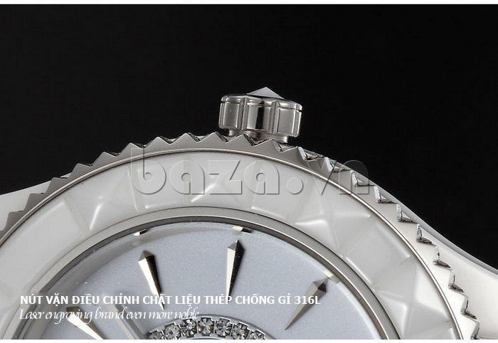 """Đồng hồ nữ """" Đồng hồ nữ thời trang Pinch 6001 """"  đơn giản dễ sử dụng"""