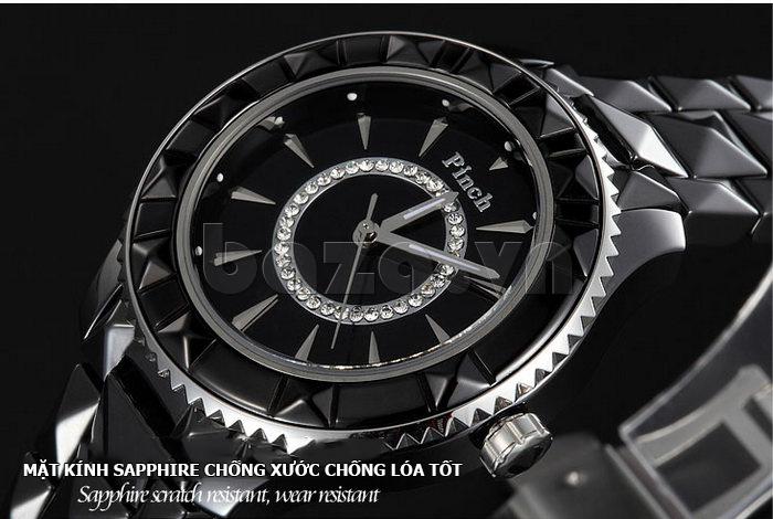 """Hoàn thiện phong cách của bạn với Đồng hồ nữ """" Đồng hồ nữ thời trang Pinch 6001 """""""