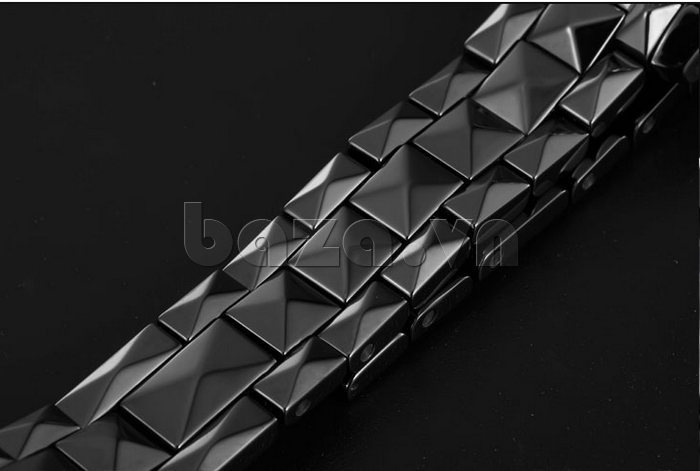 """Đồng hồ nữ """" Đồng hồ nữ thời trang Pinch 6001 """"  chất liệu gốm trân châu cao cấp"""