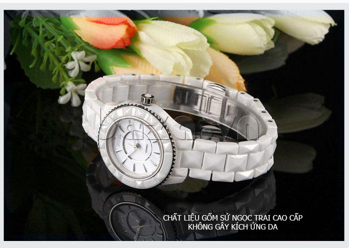 """Đồng hồ nữ """" Đồng hồ nữ thời trang Pinch 6001 """"  thân thiện với môi trường"""