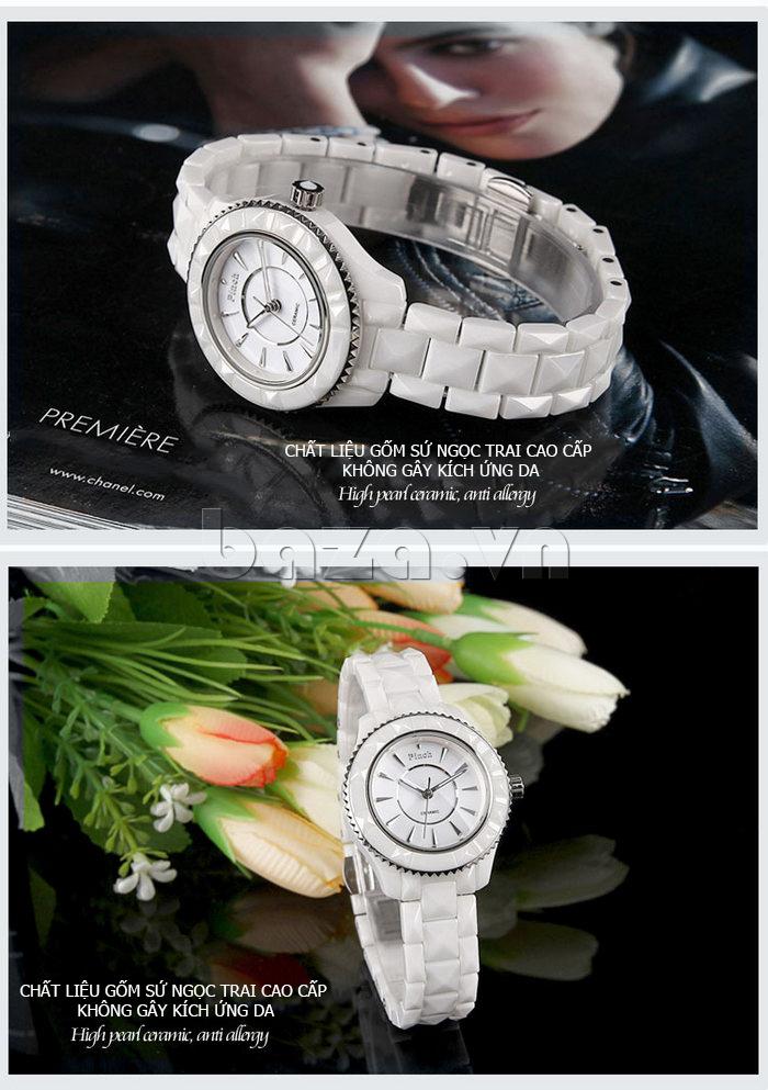 """Đồng hồ nữ """" Đồng hồ nữ thời trang Pinch 6001 """"  hoàn hảo đến từng chi tiết nhỏ"""