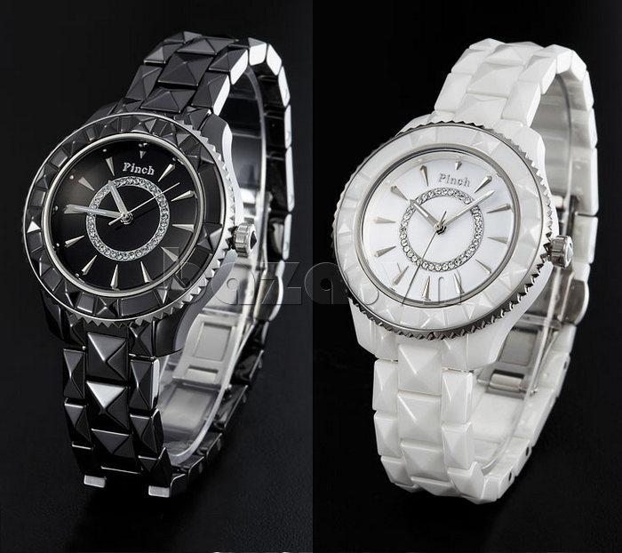 """Đồng hồ nữ """" Đồng hồ nữ thời trang Pinch 6001 """"  sắc màu thành đạt"""