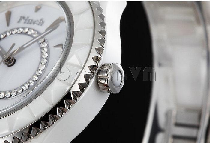 """Đồng hồ nữ """" Đồng hồ nữ thời trang Pinch 6001 """"  bí mật của các nữ doanh nhân"""