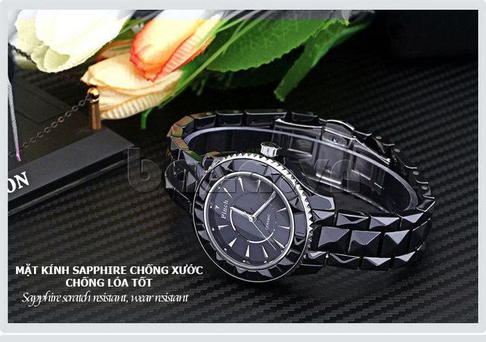 """chống xước chống lóa tốt chính là Đồng hồ nữ """" Đồng hồ nữ thời trang Pinch 6001 """""""