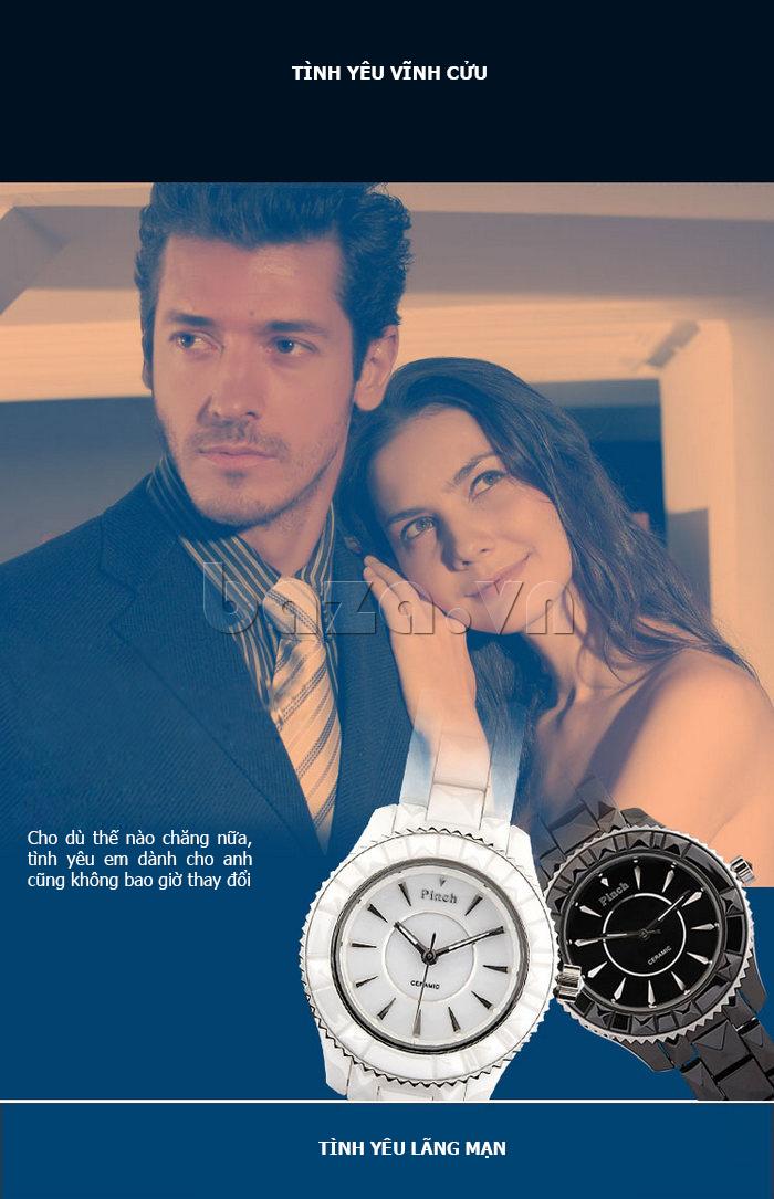 """Đồng hồ nữ """" Đồng hồ nữ thời trang Pinch 6001 """"  bạn đồng hành của thời gian"""