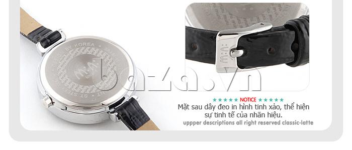 Đồng hồ nữ Mini MN915 đêm nhạc dạ hội dây đeo tinh xảo, thể hiện vẻ đẹp của thương hiệu lớn