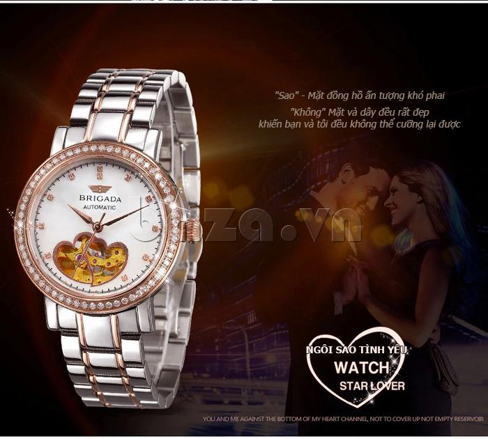 Đồng hồ nữ Brigada 6002 đẹp