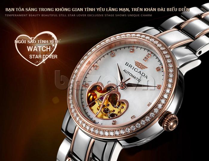 Đồng hồ nữ Brigada 6002