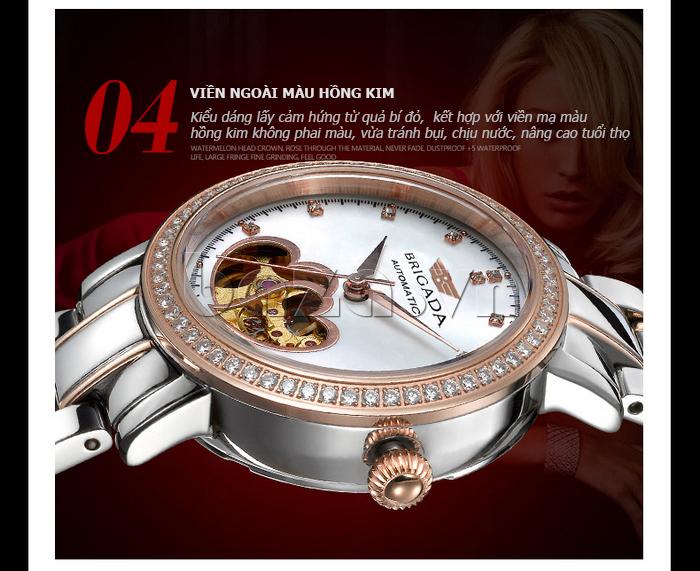 Đồng hồ nữ Brigada 6002 bền