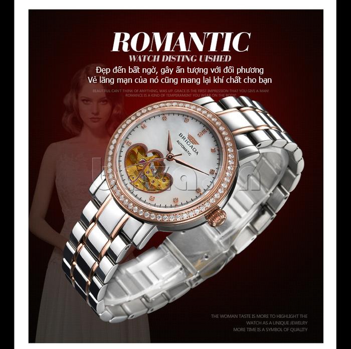 Đồng hồ nữ Brigada 6002 thiết kế hoàn mĩ