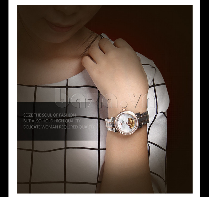 Đồng hồ nữ Brigada 6002 thiết kế thời trang