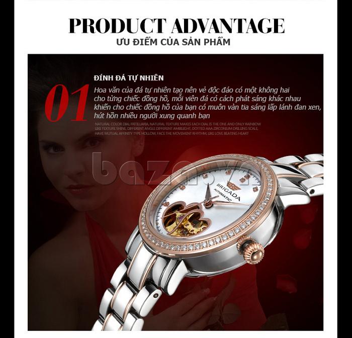 Đồng hồ nữ Brigada 6002 sang trọng