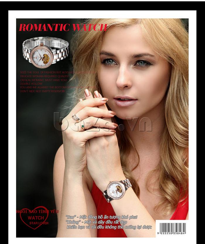 Đồng hồ nữ Brigada 6002 lạ