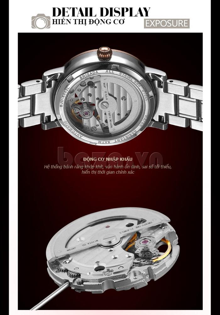 Đồng hồ nữ Brigada 6002 siêu bền